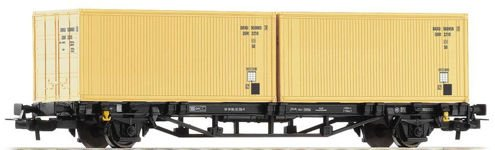 PIKO 57791 Wagon kontenerowy DR-Container